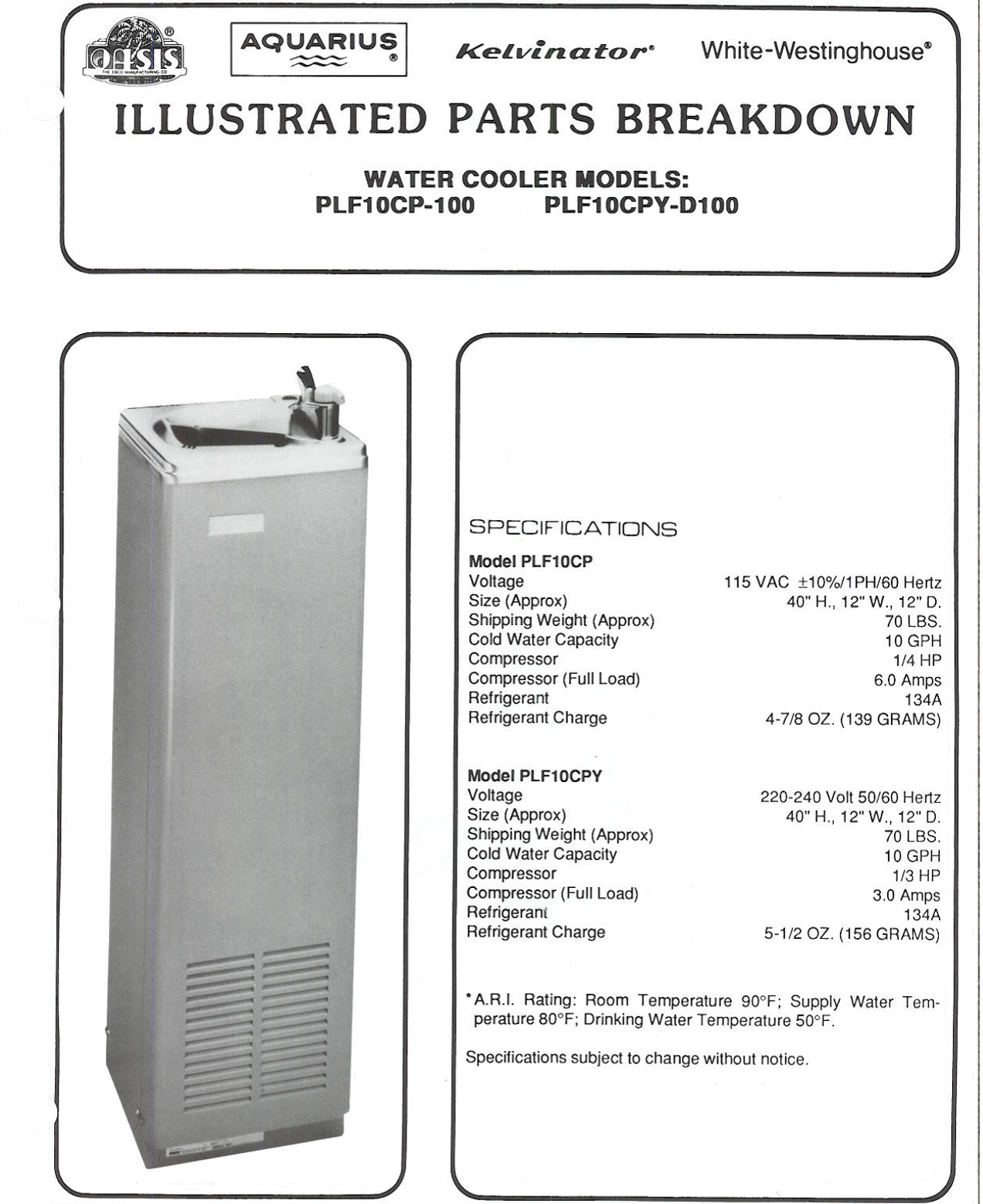 oasis drinking fountain wiring diagram aquawise - oasis floor standing water cooler 65 pontiac wiring diagram #11