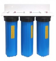 Triple Whole House System Big Blue No Cartridges 20